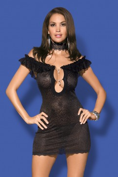 Obsessive Diamond chemise black